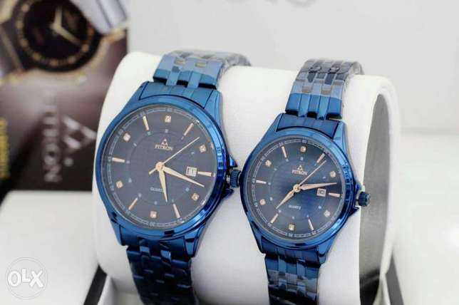 New Fitron couple watch with 1year warranty