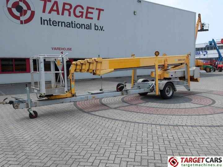 Omme 2900EBZ Towable Telescopic Boom Work Lift 2900cm - 2006