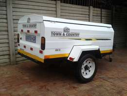2006 Karet Town and Country 1800TX Trailer with Nosecone.