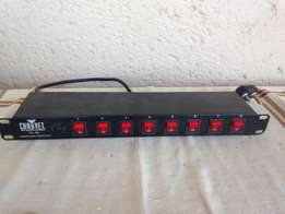 Chauvet PC-08 poet panel 8 switches