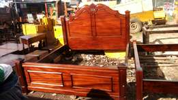 Mahogany hardwood beds