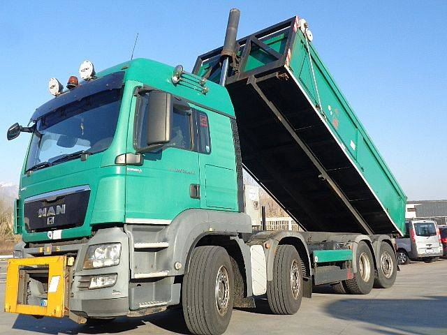 MAN TGS 35.440 8X2 RIBALTABILE CON TWIST LOCK - 2008