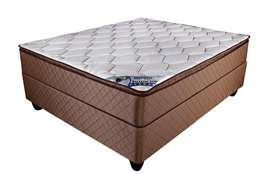 Rest Well bamboo Pillow Top Double Base Set.
