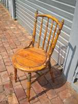 Very old cotton bobbin chair