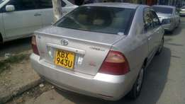 Toyota Nze KBX number 2006 model loaded with alloy rims, good mu