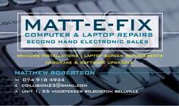 Cheapest PC & Laptop Repairs, sales & Upgrades in Boston Bellville