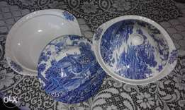 fine English dishing bowls