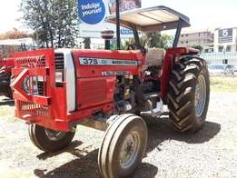 MF 375 with a Front Guard,75 HP,Delivery, Warranty,3 Disc Plough