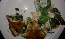 Catering services for hire just for R165.00 PP
