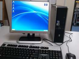 Ultra Hp Complete desktop computer core 2 duo machine with 2gb ram