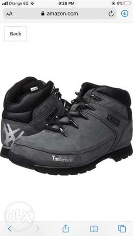 New timberland hiking boot