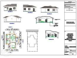 approved architectural drawings for houses