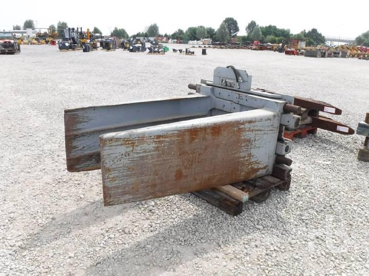 PB40W8B Hydraulic Forklift Clamp