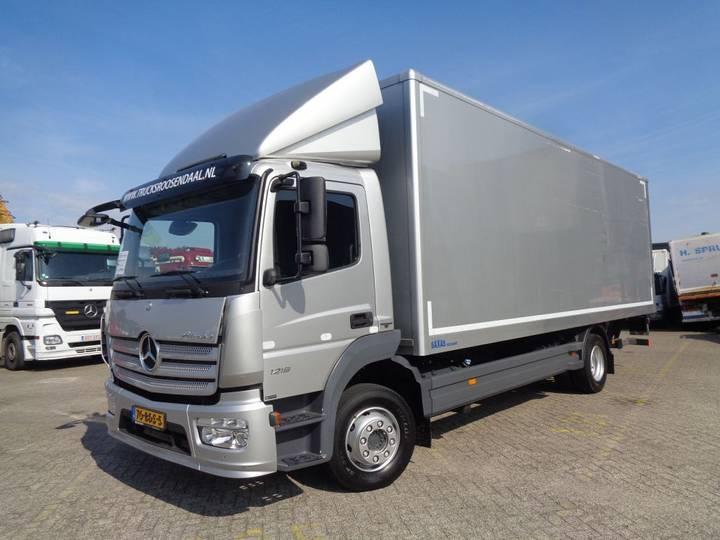 Mercedes-Benz Actros 1218 + Euro 6 + Lift - 2014