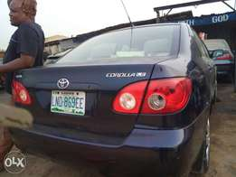 Few months used Toyota corolla 2005 model neatly used