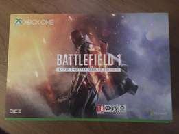 Xbox One S Battlefield 1 Special Edition Bundle In Military Green
