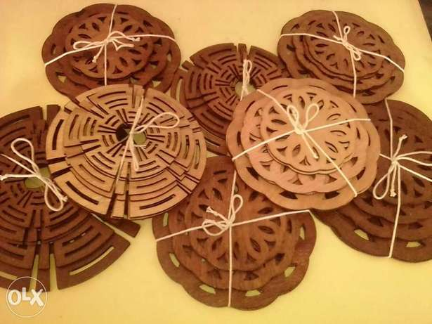 Wooden dish, plate and cup coasters. Nakuru East - image 4