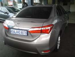 2015 Toyota Corolla 1.6 prestige for 205000