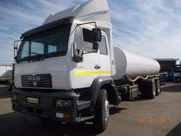MAN Water Tankers For Sale