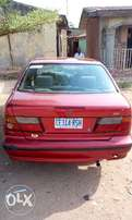 Nissan Almera up for grabs.