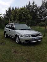 I'm selling my Toyota Tazz 1.6i,it is very clean has a/c,Power strg