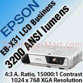 Epson EB-X31 Home, Office, Educational, Corporate & Retail Projector