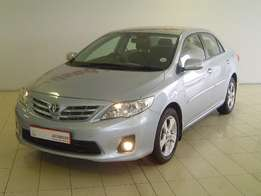2012 Toyota Corolla 1.6 Advanced, 6 Speed Manual