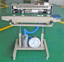 Sealing Machine with gas flashing