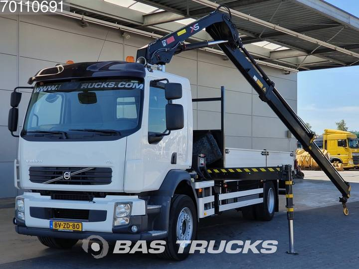 Volvo FL 280 4X2 NL-Truck Euro 5 Crane Kran HIAB 111-HIDUO - 2009