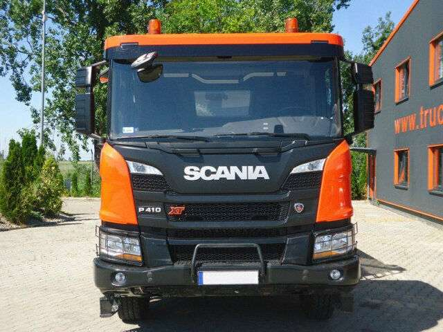 Scania P410 6x4 EURO6 DSK mit Bordmatik DEMO TOP! - 2019 for