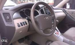Buy and drive a very clean highlander toks