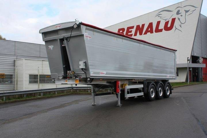 Benalu Tipptrailer 40 Ton Bulkliner S Tex 56 Kubik 6 Ton - 2019