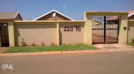 House for rent at Protea Glen Ext 26
