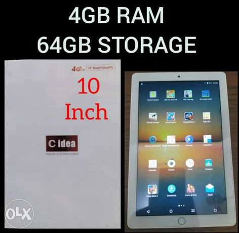 C-Idea 4GB RAM 64GB STORAGE 10 inch Tablet