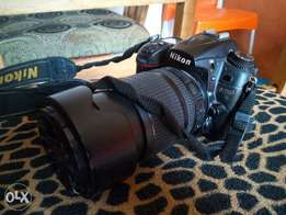 A very clean Nikon D7000 camera with an 18-105mm lens. Comes with