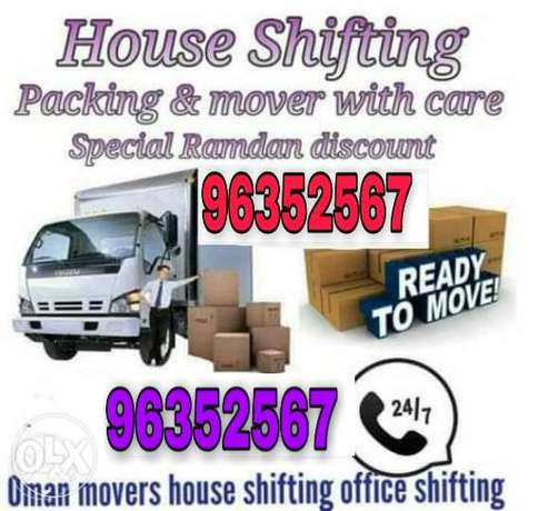 Mover and packers service all oman f yfhchc