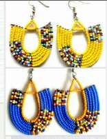 Maasai earrings.