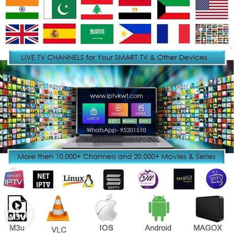 TV Channels app for Smart TV, Phone, Andriod box, Computer
