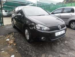 2009 Black VW Golf 6 1.6 Hatch for sale