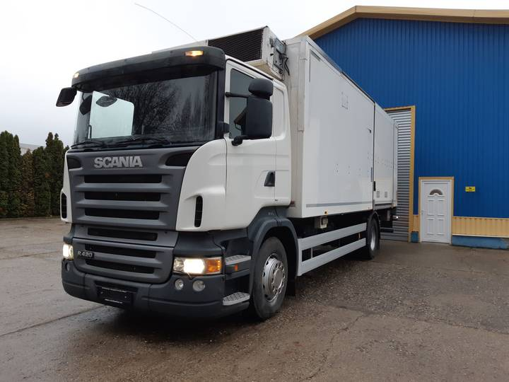 Scania R420 EU4 Fridge+Tail Lift - 2005