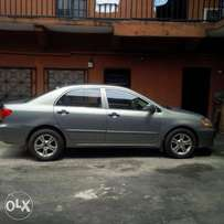 Toyota Corolla 2003/2004 model NEATLY USED BY A LADY