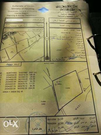 Land For Rent Hay Al Tourath Nizwa