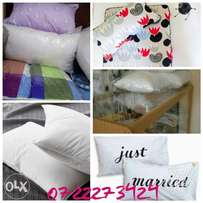 fiber pillows which are washable at only 1000 per pair