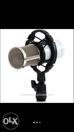 Condenser Wired Microphone Mic stand studio for recording South C - image 3