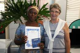 Zandile Ndokweni takes the title of Domestic Worker of the month