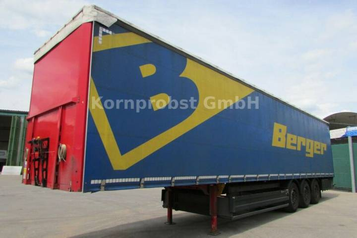 Berger SAPL 24 LTN - Tautliner - Zertifikat Nr.: 332 - 2014