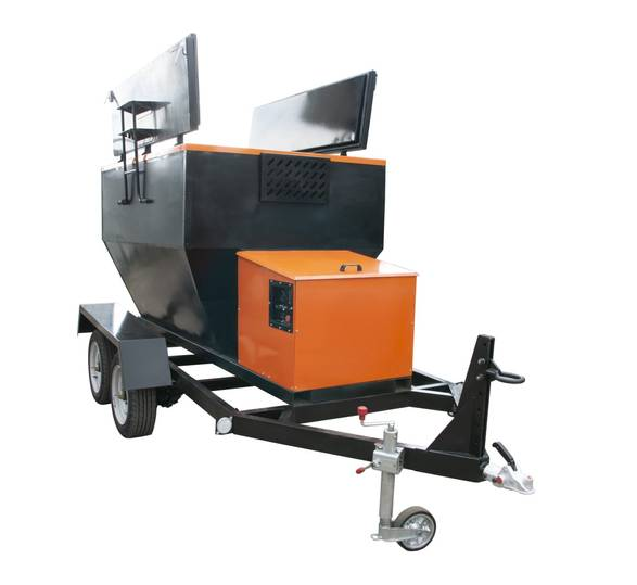 Asphalt Hot Box HB-2 TM TICAB - 2019