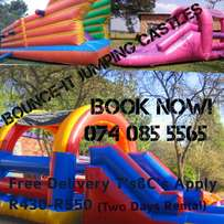 Bounce-It jumping castle hire