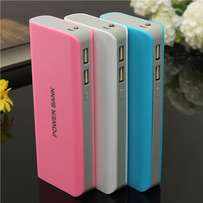 Universal Portable 5x18650 LED Dual USB Battery Charger Power Bank Pac
