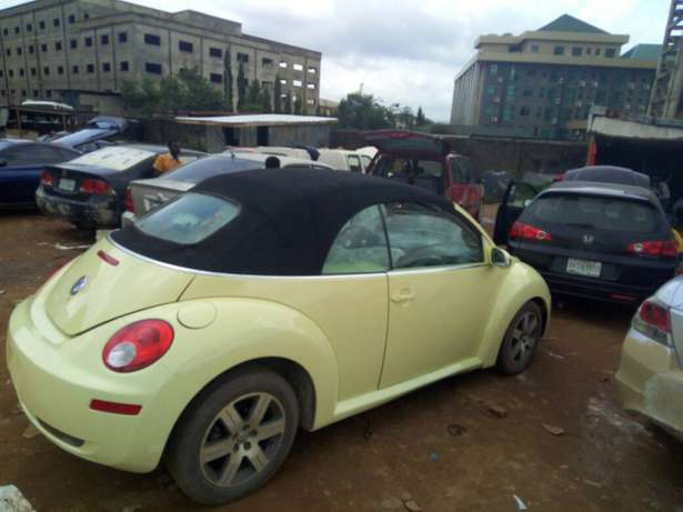 2006 Used Volkswagen Beetle Convertible for sale... Lugbe - image 4